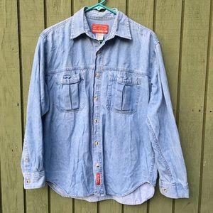 Marlboro Country Store 90's Denim Shirt